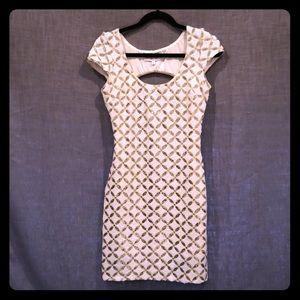 Dress the Population mini dress